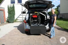Verladung E-Rollstuhl