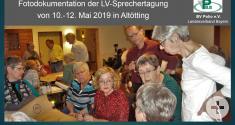 LV-Sprecherseminar von 10.-12. Mai 2019 in Altötting