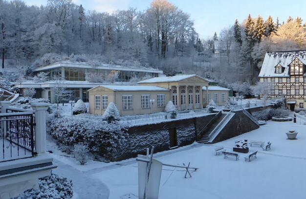 Winterbild Wiesenbad
